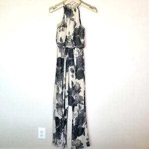 Eliza J. Formal dress size:S flowered pattern